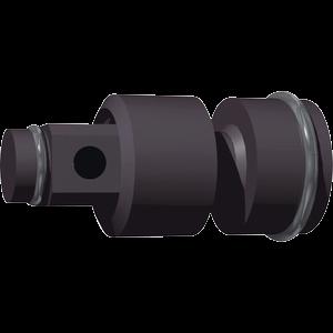 """Universalled 1/2"""" 84 mm flexibel"""