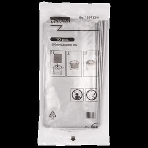 Plastikinis dulkių maišas (10Vnt.) DVC860,DVC861, DVC862, DCS863, DVC864