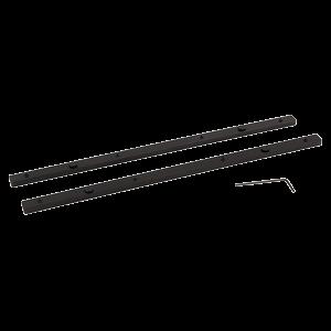 Ohjauskiskon jatkokappale (2kpl), liittää kaksi ohjauskiskoa yhteen
