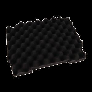Vaahtomuovisus Makpac laatikon pohjalle