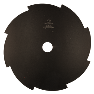 Ruohoterä 8-lapainen, 230x25,4 mm