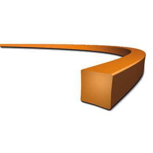 Siima 2,4 mm x 69 m, neliö