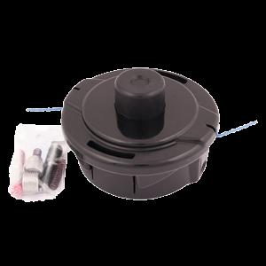 Siimapää automaattinen, 2 siimaa 2,4 mm