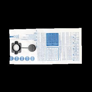 Pölypussi paperi/kevyt käyttö valkoinen 5 kpl