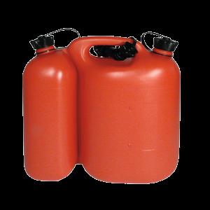 Kombikannu , bensiini 5 L + öljy 3 L, sis. yhden kaatonokan