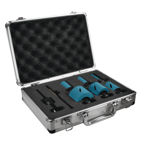 Ezychange reikäsahasarja 19, 22, 29, 38, 44, 57mm + Adapteri