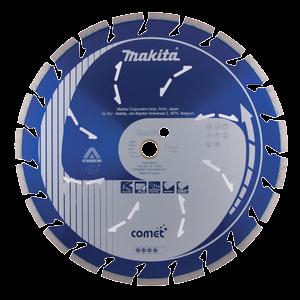 Timanttikatkaisulaikka 350mm, Comet Rapid, segmenttikorkeus 10mm, jäähdytysreiät, 3DDG
