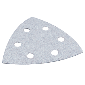 Hiomapaperikolmio, K100, 10 kpl, valkoinen