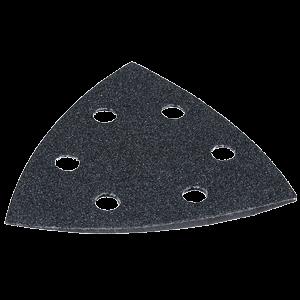 Hiomapaperikolmio, K120, 10 kpl, musta