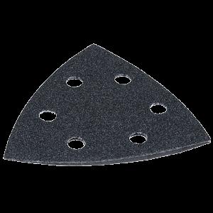 Hiomapaperikolmio, K1200, 10 kpl, musta