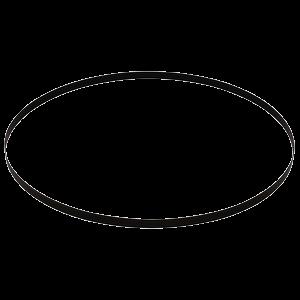 Vannesahanterä BiM 13x0,5x835mm, 14tpi, 5kpl