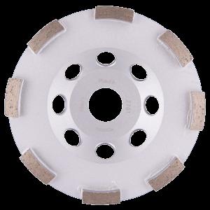 Timanttikuppilaikka 125mm, 1-rivinen segmentti, karkea hionta