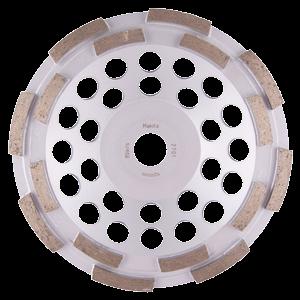 Timanttikuppilaikka 180mm, 2-rivinen segmentti, yleishionta
