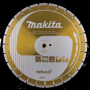 Timanttikatkaisulaikka 400x25,4/20mm, Nebula, segmenttikorkeus 10mm