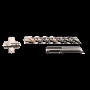 SDS-Plus poranterä 12x210/260mm, 4-leikkuinen Nemesis2 -terä