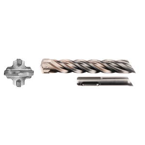 SDS-Plus poranterä 24x200/250mm, 4-leikkuinen Nemesis2 -terä