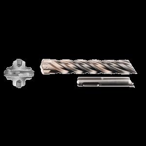 SDS-Plus poranterä 28x200/250mm, 4-leikkuinen Nemesis2 -terä