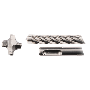 SDS-Plus poranterä 8x100/165mm, 4-leikkuinen Nemesis2 -terä, 5kpl