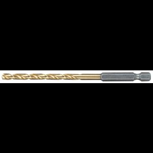 Metalliporanterä HSS-Tin 10,0 mm, 1/4