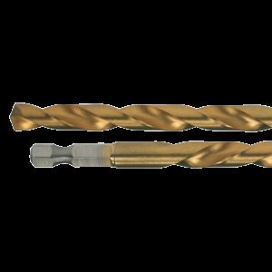 Metalliporanterä HSS-Tin 4,1 mm, 1/4