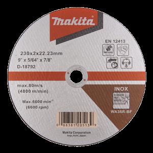 D-18792 - Katkaisulaikka metalli 230 x 2,0 mm