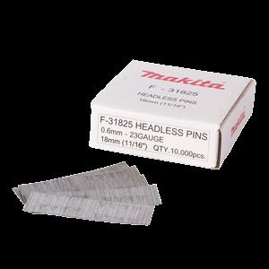Pinninaula 0,6 x 18 mm, sähkösinkitty, 10000 kpl