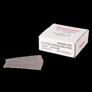 F-32155 - Pinninaula 0,6 x 25 mm, ruostumaton, 10000 kpl