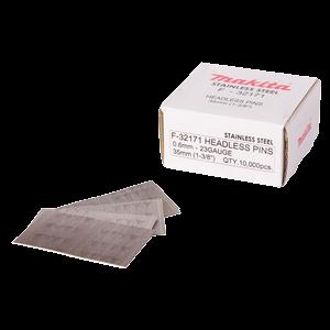 Pinninaula 0,6 x 35 mm, ruostumaton, 10000 kpl