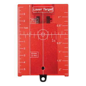 Tähtäinlevy punainen heijastavalla magneettilla