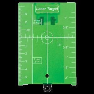 Tähtäinlevy vihreä heijastavalla magneettilla