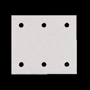 Hiomapaperi tarrakiinnitys 114 x 102 K80, 10 kpl, BO4555