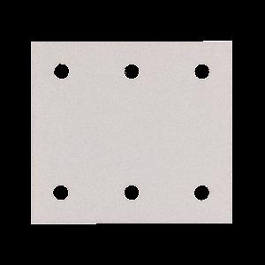 Hiomapaperi tarrakiinnitys 114 x 102 K120, 10 kpl, BO4555