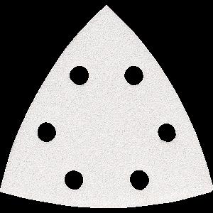Hiomapaperi kolmio koukkutarrakiinnitys 96 x 96 x 96 K40, 10 kpl, BO4565