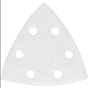 Hiomapaperi kolmio koukkutarrakiinnitys 96 x 96 x 96 K100, 10 kpl, BO4565