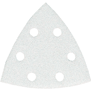 Hiomapaperi kolmio koukkutarrakiinnitys 96 x 96 x 96 K180, 10 kpl, BO4565