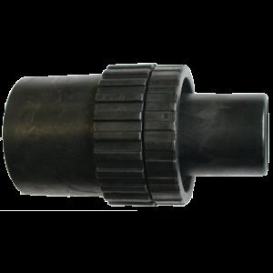 P-70390 - Imuletkun liitosmuhvi 36mm letkulle  imuriin. Pyörivä