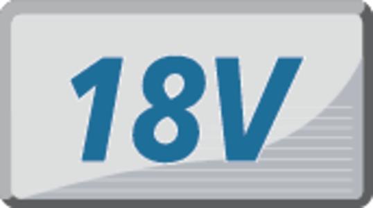 18 Voltin käyttöjännite