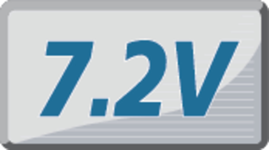 7,2 V