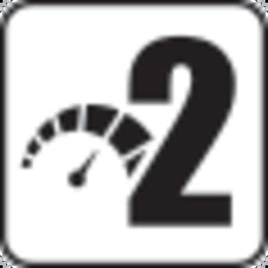 2 hastighetsområder